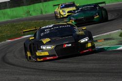 #17 Belgian Audi Club Team WRT Audi R8 LMS: Stuart Leonard, Robin Frijns, Sheldon van der Linde