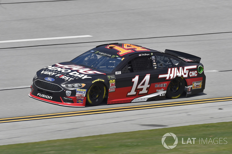 8. Clint Bowyer, Stewart-Haas Racing, Ford Haas Automation Demo Day