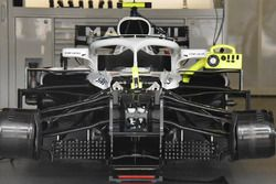 Vue détaillée de l'avant de la Williams FW41