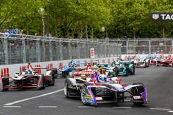 Sam Bird, DS Virgin Racing, Andre Lotterer, Techeetah, Maro Engel, Venturi Formula E Team