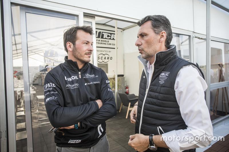 Jean-Karl Vernay, Audi Sport Leopard Lukoil Team Audi RS 3 LMS, François Ribeiro, WTCR Eurosport