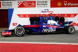 Honda personel, Franz Tost, Scuderia Toro Rosso Team Principal, Pierre Gasly, Scuderia Toro Rosso an