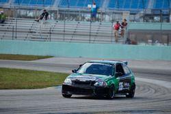 #135 MP4C Honda Civic, Albin Roman, Rircardo Rodriguez, J&A Motorsports