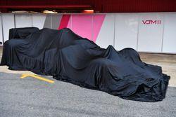 La nouvelle Sahara Force India VJM11 sous un drap