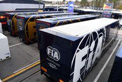 Грузовики FIA в паддоке