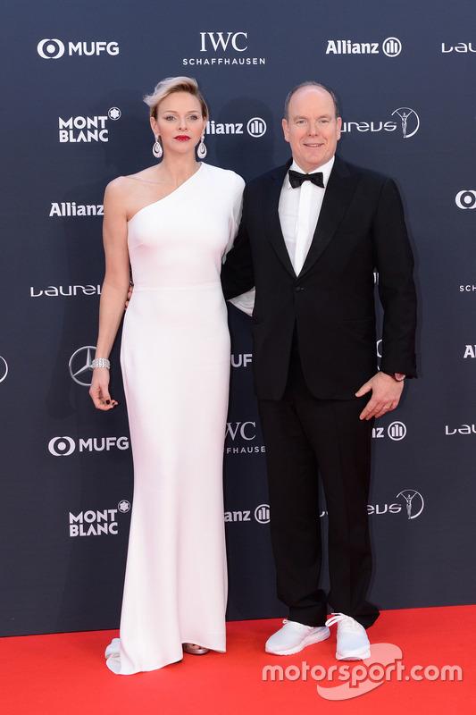 Príncipe Alberto II de Mónaco y su esposa Charlene, Princesa de Mónaco