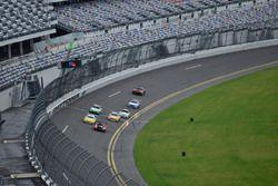 #84 TA3 Dodge Viper: Lee Saunders, #4 TA Porsche 911 GT3 Cup: Tim Kezman of Fall Line Motorsports, #