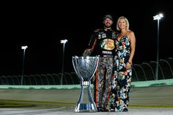 2017 champion Martin Truex Jr., Furniture Row Racing Toyota, Sherry Pollex