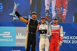 Podyum: Yarış galibi Sam Bird, DS Virgin Racing, 2. Jean-Eric Vergne, Techeetah, 3. Nick Heidfeld, M