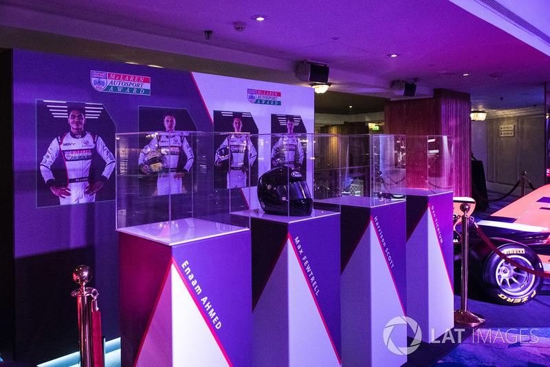 Imágenes de los nominados al premio McLaren Autosport BRDC