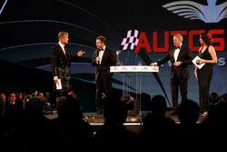 David Coulthard, Christian Horner, Martin Brundle et Lee McKenzie
