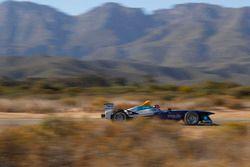 Une monoplace de Formule E