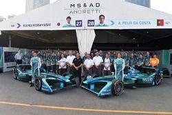 Kamui Kobayashi, Andretti Formula E, Antonio Felix da Costa, Andretti Formula E Team