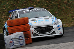 Эмануэле Цеккин и Антонио Форато, Peugeot 208 T16
