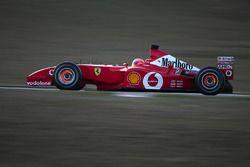 2002, test Ferrari a Fiorano, Michael Schumacher