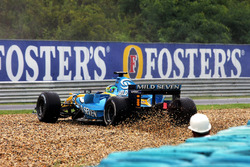 Giancarlo Fisichella, Renault R26 spin