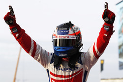 Race winner Felix Rosenqvist, Mahindra Racing