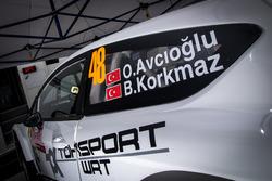 Orhan Avcıoğlu, Burçin Korkmaz, Toksport WRT, Ford Fiesta R5