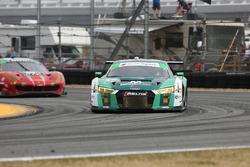 #29 Montaplast by Land-Motorsport Audi R8 LMS GT3: Sheldon van der Linde, Kelvin van der Linde, Chri