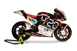 La Suter MMX2 di Eric Granado, Forward Racing Team