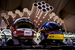 The Team Latin America helmets