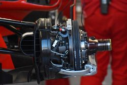 Ferrari SF71H, dettaglio del freno
