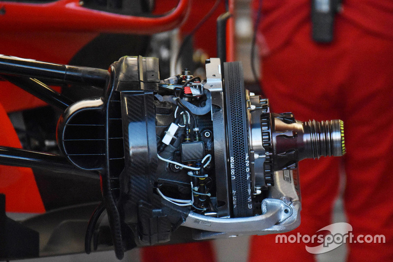 Ferrari SF71H front brake detail