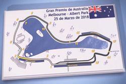 Mapa del Circuito Albert Park