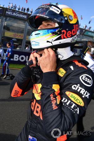 Daniel Ricciardo, Red Bull Racing op de startopstelling