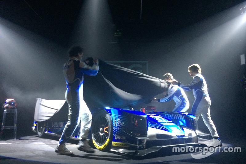 I piloti Roberto Lacorte, Giorgio Sernagiotto e Andrea Belicchi tolgono il velo dalla Dallara Gibson LMP2