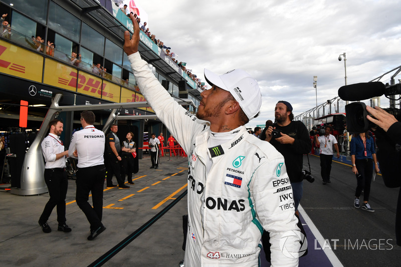 Pole pozisyonu galibi Lewis Hamilton, Mercedes-AMG F1