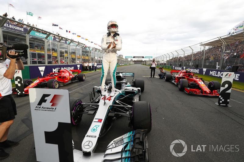 Володар поулу Льюіс Хемілтон, Mercedes-AMG F1