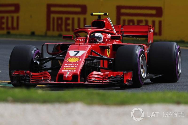 FERRARI: Raikkonen 1 x 0 Vettel
