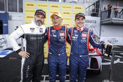 Yvan Muller, YMR Hyundai i30 N TCR, Gabriele Tarquini, BRC Racing Team Hyundai i30 N TCR, Norbert Mi