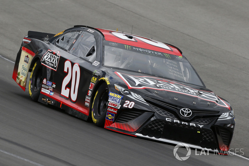 21. Erik Jones, No. 20 Joe Gibbs Racing Toyota Camry
