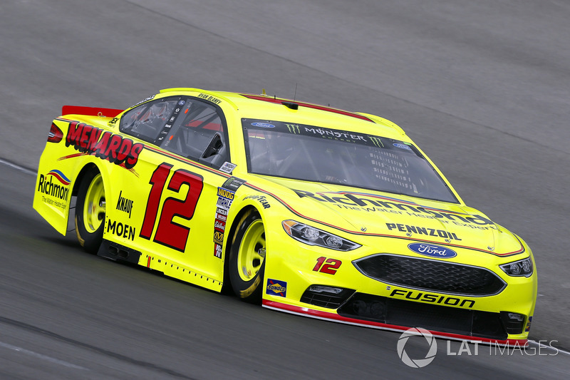 4. Ryan Blaney, No. 12 Team Penske Ford Fusion