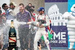 Sam Bird, DS Virgin Racing, ,wins the Rome ePrix