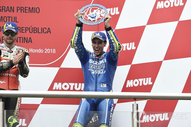 Primer podio: GP de Argentina 2018 (3º)