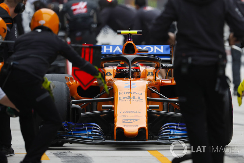 Пит-стоп: Стоффель Вандорн, McLaren MCL33