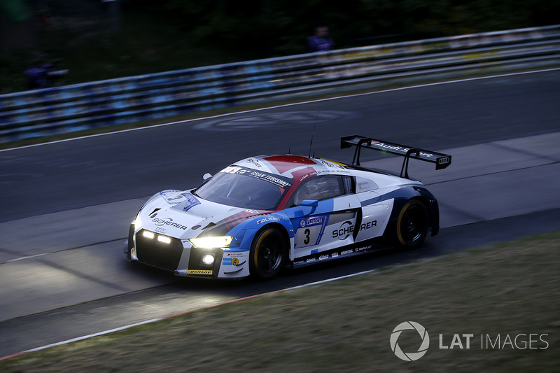 22. #3 Audi Sport Team Phoenix Audi R8 LMS GT3: Christopher Haase, Frank Stippler, Frederic Vervisch, Nico Müller