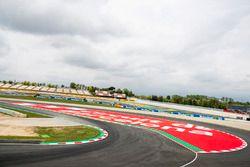 Overzicht van het circuit van Barcelona