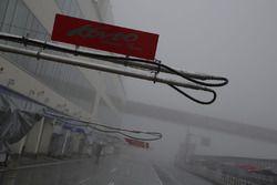 霧に見舞われたオートポリス