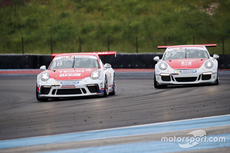 Daniele Cazzaniga, Ghinzani Arco Motorsport e Riccardo Cazzaniga, Ghinzani Arco Motorsport