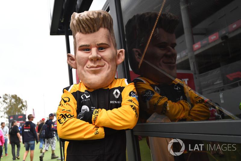 Nico Hulkenberg, Renault Sport F1 Team caricatura