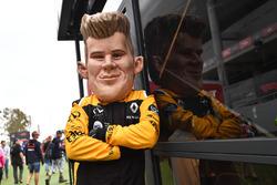 Nico Hulkenberg, Renault Sport F1 Team caricature