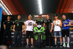 Xavi Fores, Barni Racing Team, Lucas Mahias, GRT Yamaha Official WorldSSP Team, Ken Ondo, Steve Guttridge, Manuel Puccetti, Kenan Sofuoglu, Kawasaki Puccetti Racing