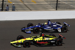 Sébastien Bourdais, Dale Coyne Racing with Vasser-Sullivan Honda, Spencer Pigot, Ed Carpenter Racing Chevrolet