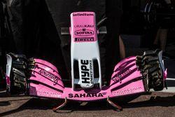 Nez et aileron avant Force India VJM11