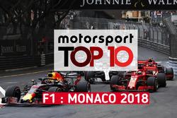 Le top 10 du GP de Monaco