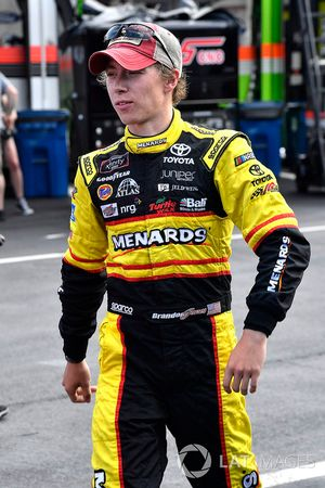 Brandon Jones, Joe Gibbs Racing, Toyota Camry Toyota Menards Jeld-Wen